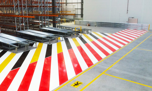 Floor Marking from ASG Services