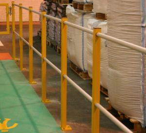 Pedestrian Handrail Barriers