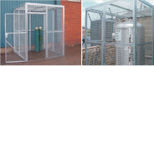 "Major galvanised mesh partitioning – 1"" x 1"" and 2""x 2"""