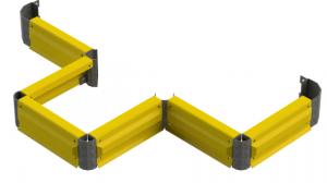 Forklift Impact Rail