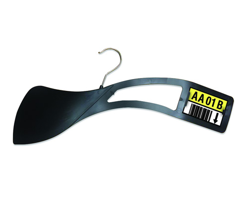 Warehouse Garment Divider Hangers with Location Labels