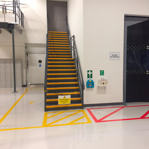 Internal Line Marking Solutions From Asg Services