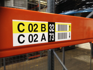 Pallet Racking Labels